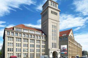 Das Behrens-Ufer-Areal in Berlin-Oberschöneweise ist neuer Ausstellungsort für die Ausstellung Unvollendete Metropole