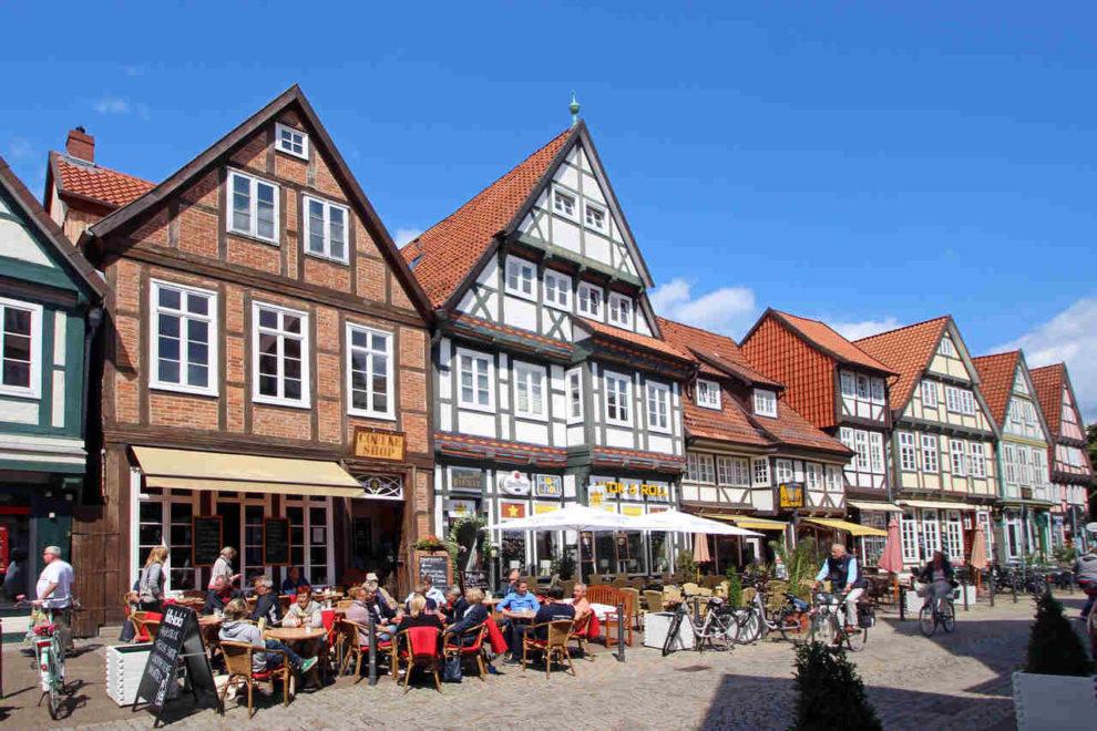 Fachwerk-Häuser in Celle