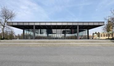 Ansicht von der Potsdamer Straße im Osten: Die Transparenz der Halle soll bewahrt und die ursprüngliche Gliederung der Scheiben wiederhergestellt werden (© bpk / Roman März)