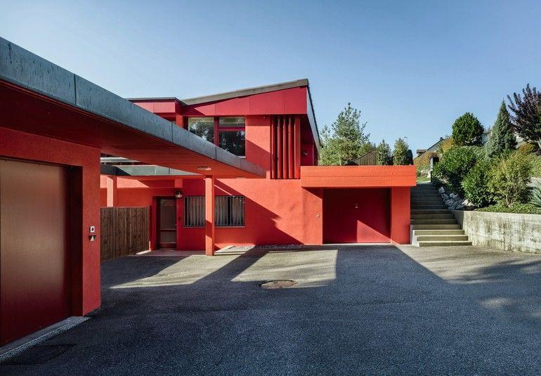 Villa bei Solothurn, modernisiert von Hauswirth Architekten