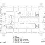 Königliches Museum der Schönen Künste Antwerpen: Grundriss Eingangsgeschoss
