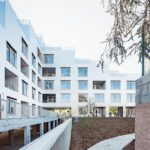 Sozialwohnungsbau Dijon, sophie delhay architecte