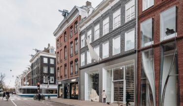 Geschäftshaus von UN Studio in der Hofstraat in Amsterdam