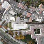 Luftbild der Cusanus Akademie Brixen