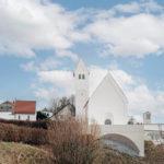 Westseite von St. Georg Hebertshausen