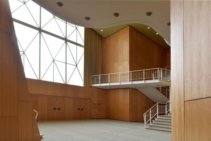 Hans Scharouns Theater In Wolfsburg Modernisiert Die Kunst Des