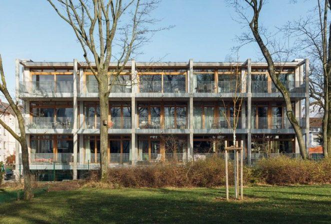 Lowtech Genossenschaftswohnungsbau K76 In Darmstadt Von Werk Um