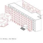 Axonometrie von: Freie Waldorfschule am Prenzlauer Berg