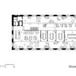 Business Center Givaudan von Ernst Niklaus Fausch Partner, Grundriss 3. OG