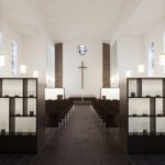 Kolumbarium von DEEN Architects in ehemaliger Christuskirche in Marl