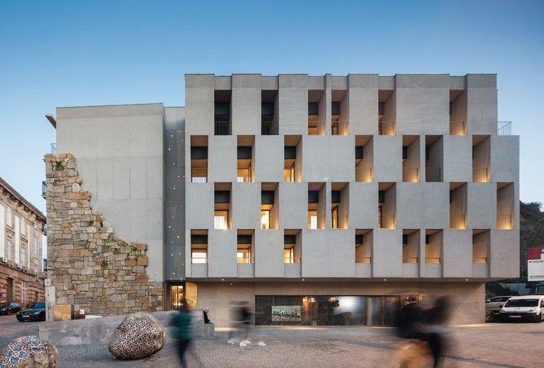 Apartmenthaus in Porto (P), Atelier Pedra Líquida