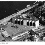 Rathaus Mainz Historisches Luftbild