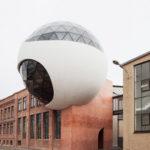 Außenansicht TechneSphere Niemeyer