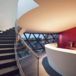 Bar in der TechneSphere von Oscar Niemeyer