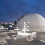 Dachterrasse der Niemeyer-Sphere