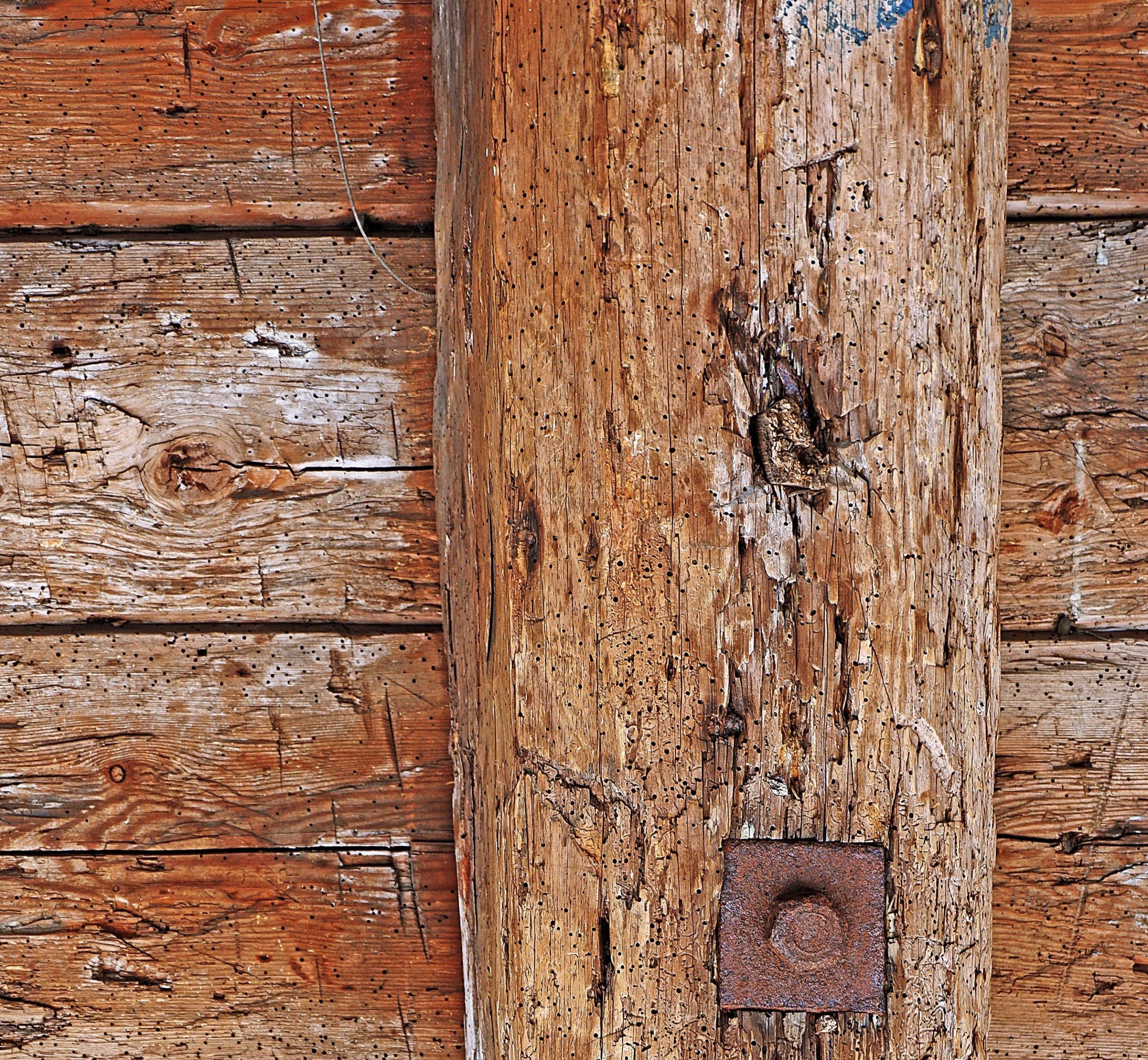 historische Holzkonstruktion