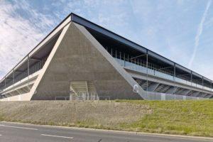 :mlzd und Sollberger Bögli, Fußballstadion, Lausanne