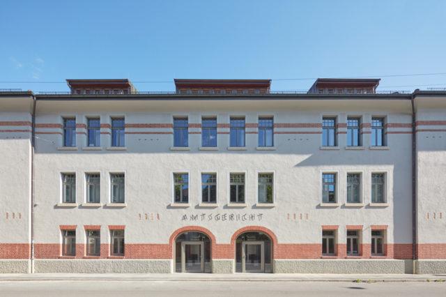 Amtsgericht in Tübingen von Dannien Roller Architekten + Partner, Straßenansicht