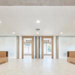 Amtsgericht in Tübingen von Dannien Roller Architekten + Partner, Foyer