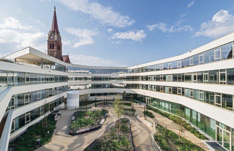 Pflegewohnheim »Ingrid Ledodolter Haus«, Wien, wup