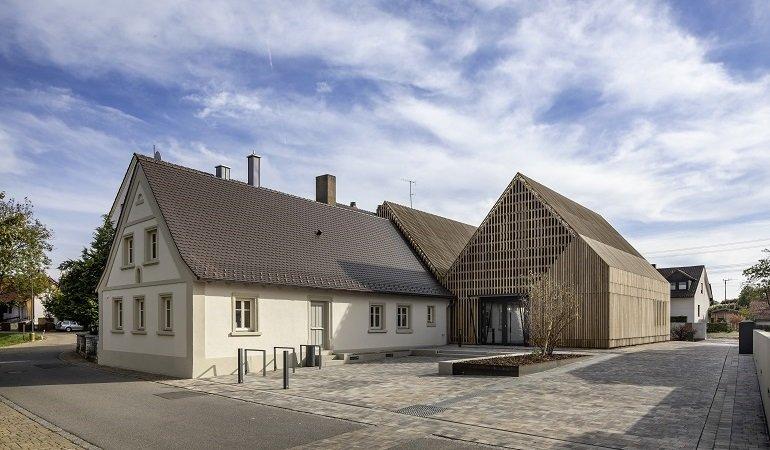 Außenansicht Bücherei Gundelsheim