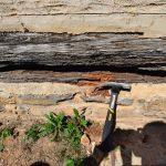 Historische Holz-Fachwerk-Bauweise