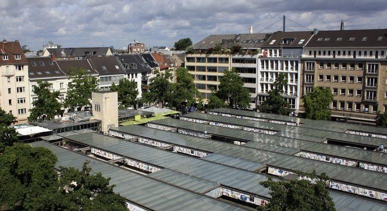 Regionalität beim urbanen Gemüseanbau mitten in Düsseldorf.