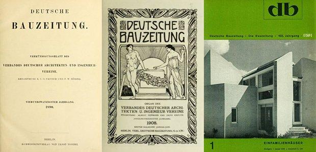 db-Titelbilder 1890, 1908, 1968