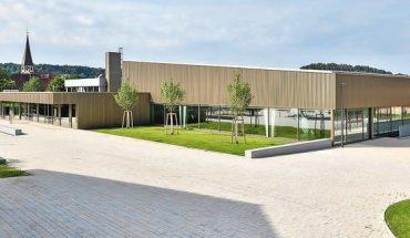 Gerhard-Schanz-Sportzentrum in Althengstett, Drei Architekten