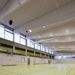 Gerhard-Schanz-Sportzentrum in Althengstett, Drei Architekten